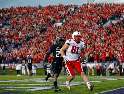 "Northwestern's ""Wear Red and Yell 'Go Cornhuskers'"" rally was a HUGE success."