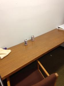 Sometimes, one PBR just isn't enough for a night in the stacks.