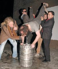 Finish the keg if that's your dad.