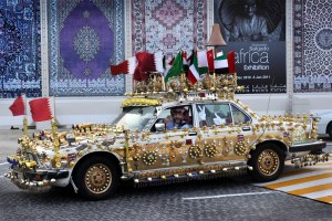 People actually have cars like that in Doha
