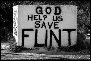 "This piece is entitled, ""Someone Please Make a Documentary about Flint."""
