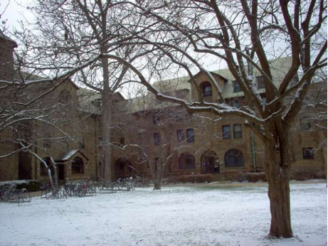 Northwestern Fraternity Quad
