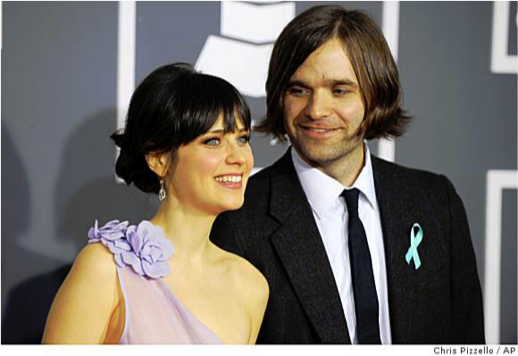 and Zooey Deschanel  Ben Zooey Deschanel And Ben Gibbard Wedding