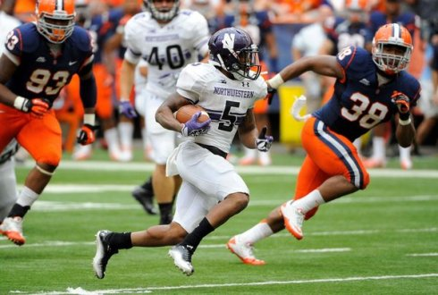 NCAA Football: Northwestern at Syracuse