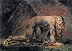 "Did your parents have a print of ""Nebuchadnezzar"", a painting completed by William Blake in 1795 depicting the ancient Hebrew king in a fit of hubris-induced insanity, as depicted in the Book of Daniel?  If not, then don't even TRY to tell me that you were a #90sKid."