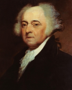 Remember this hunk?  That's John Adams, 2nd President of the United States, who was inaugurated in 1797.  Talk about a #Hottieofthe1790s