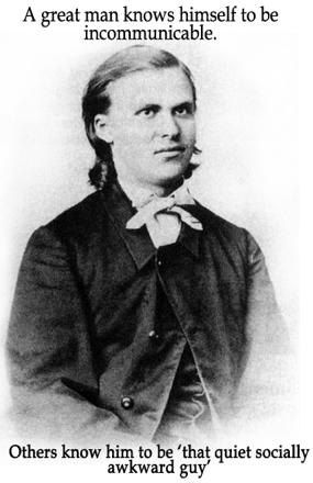Awkward Young Nietzsche