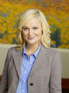 """The only thing I'm guilty of is loving Pawnee... and punching Lindsay in the face and shoving a coffee filter down her pants."""