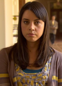 """Hello. I'm April Ludgate. I'm twenty-years-old. I like people, places and things."""