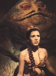 mmmm Jabba, I'd much rather see you in that skimpy gold bikini