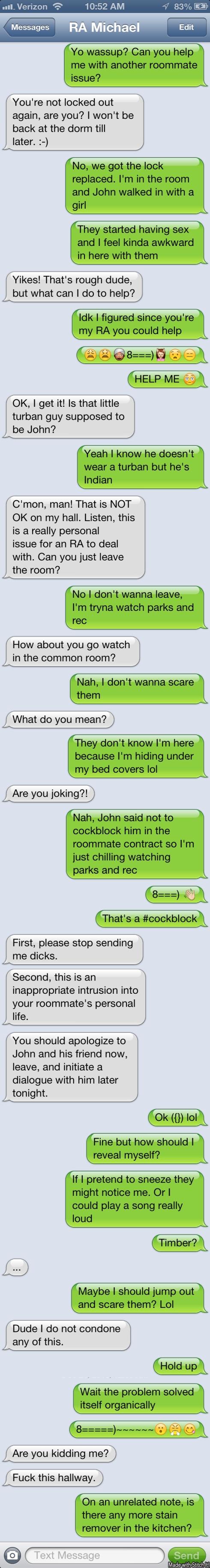 Final RA Text Conversation-Billy